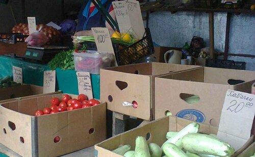 цены на продукты в оккупированном Донецке