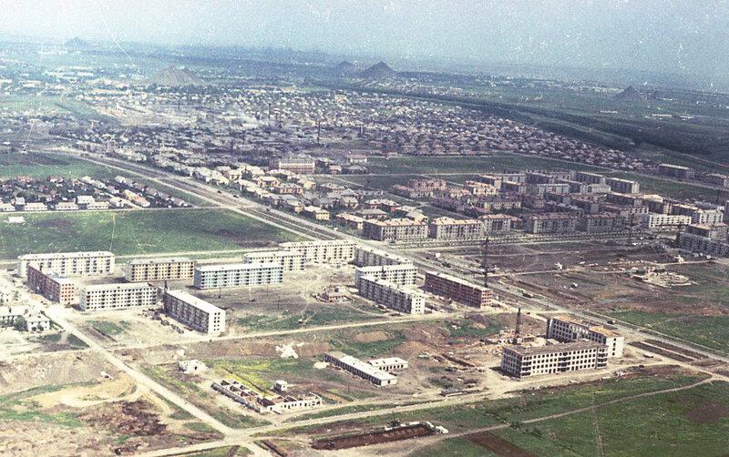 6. Донецк. Аэрофотосъемка начала 1960-х