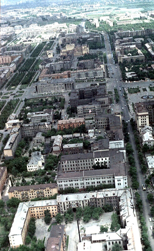 54. Донецк. Аэрофотосъемка начала 1960-х
