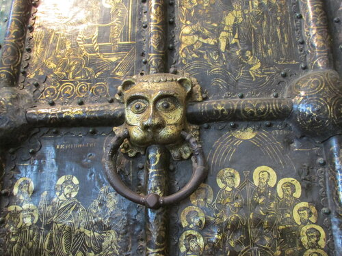 Златые врата. Деталь