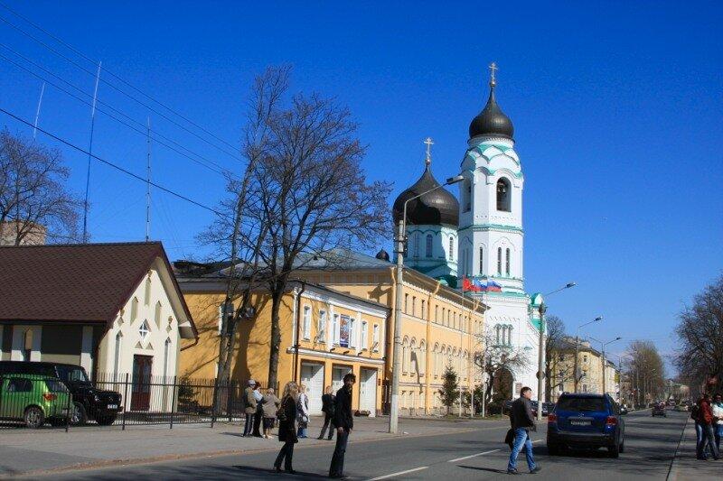 Дворцовый проспект города Ломоносов