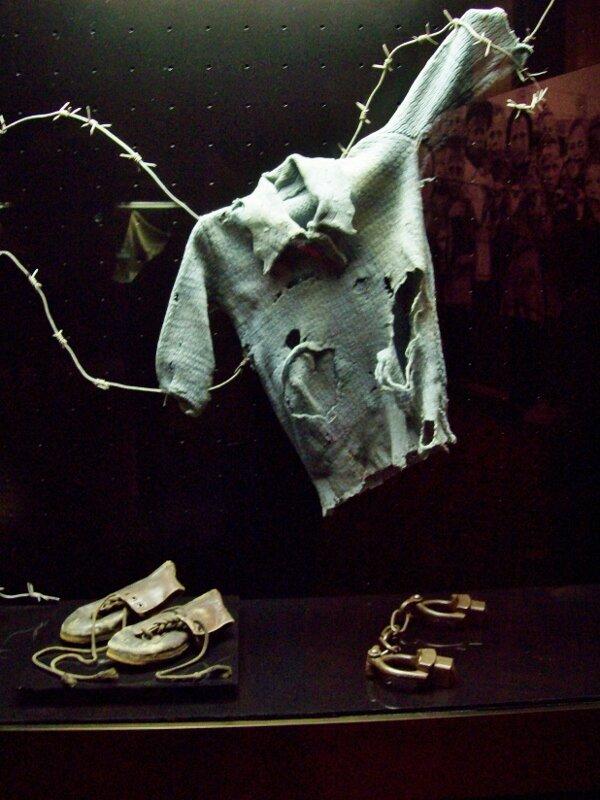 Вещи детей-заключенных концлагеря Майданек