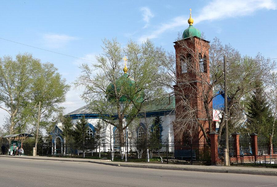 Церковь Михаила Архангела (1896). - 2012 год. Комментарии к фото - Кокшетау Онлайн