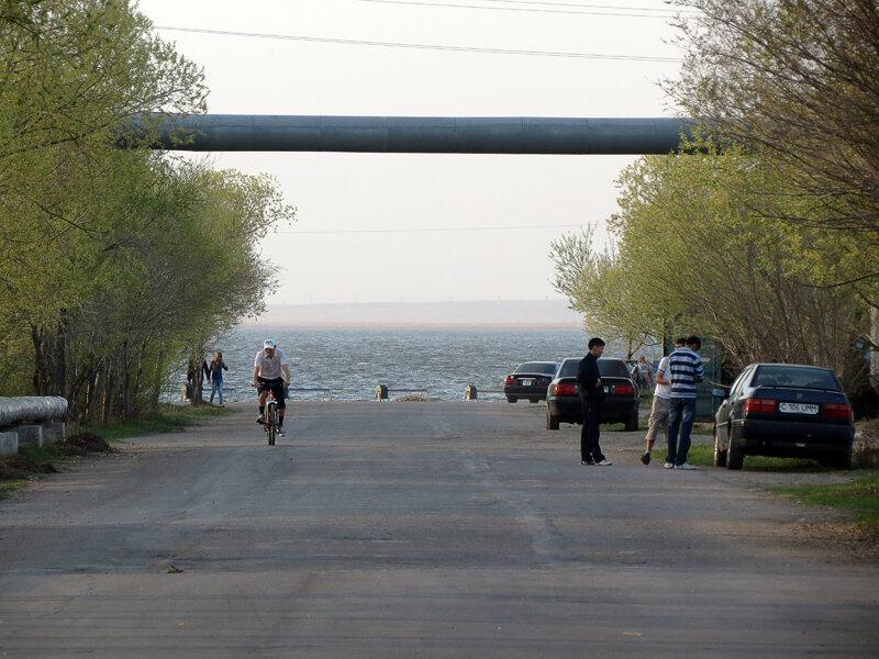 Выход на пляж по ул.Куйбышева - 2012 год. Комментарии к фото - Кокшетау Онлайн