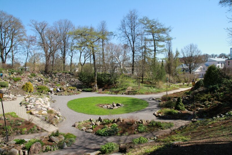Тарту, Ботанический сад