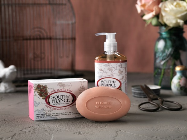 натуральное мыло South of France Climbing Wild Rose Oval Soap