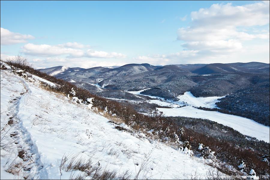 Зимний Мангуп