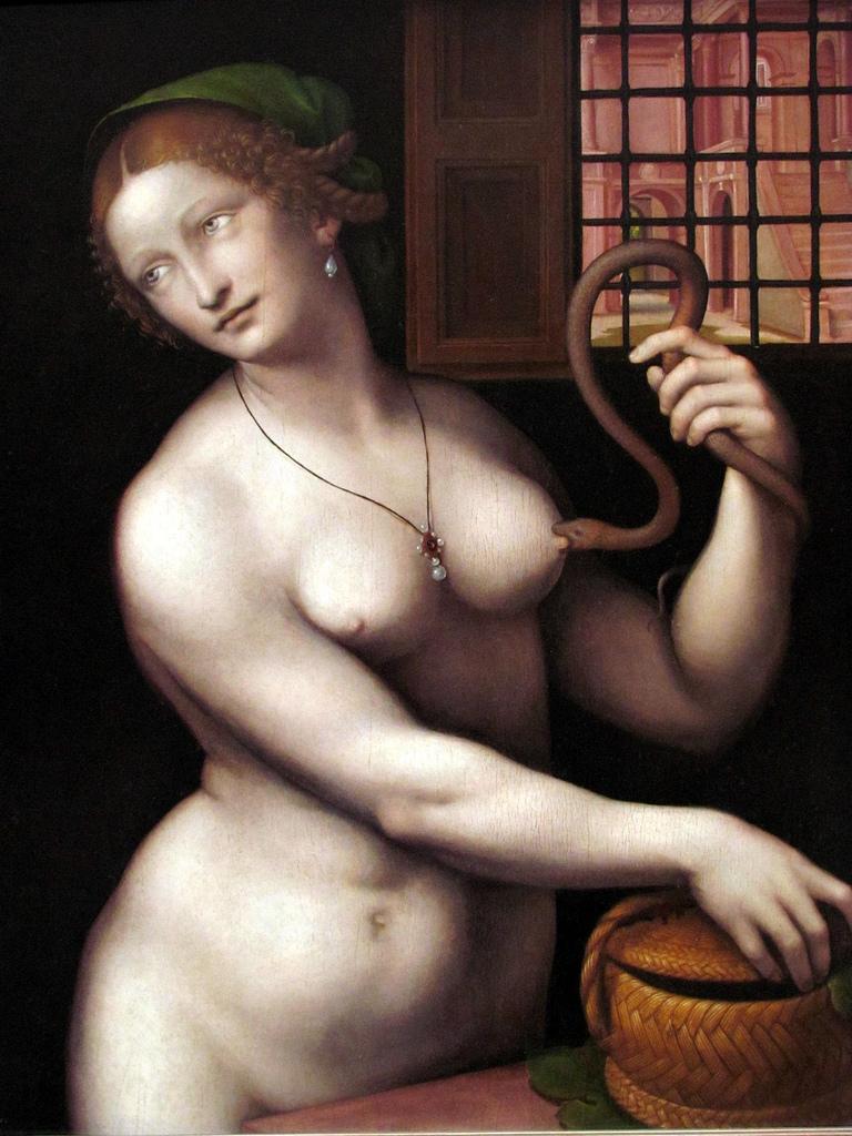 The Death of Cleopatra, 1525 Giovanni Ricci