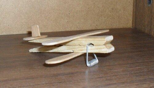 Самолет из палочек для мороженого своими руками