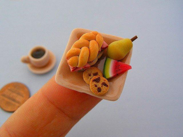 """Миниатюрные скульптуры еды """" Cherry soft - Art, Nature, Funny"""