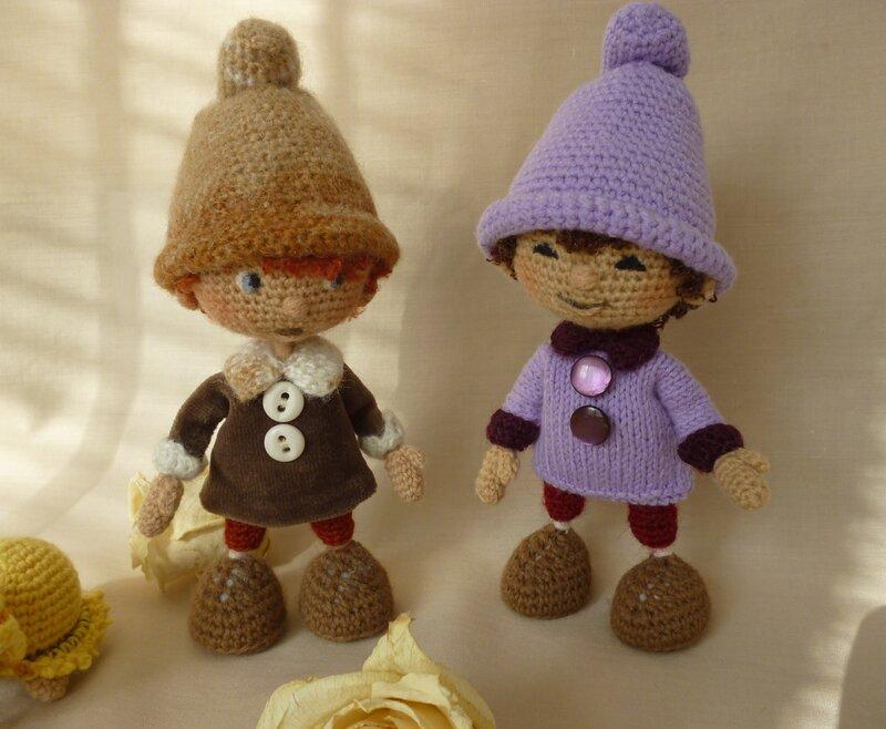 Вязанные игрушки от RамзиЯ! Мастер-класс интерьерной куклы
