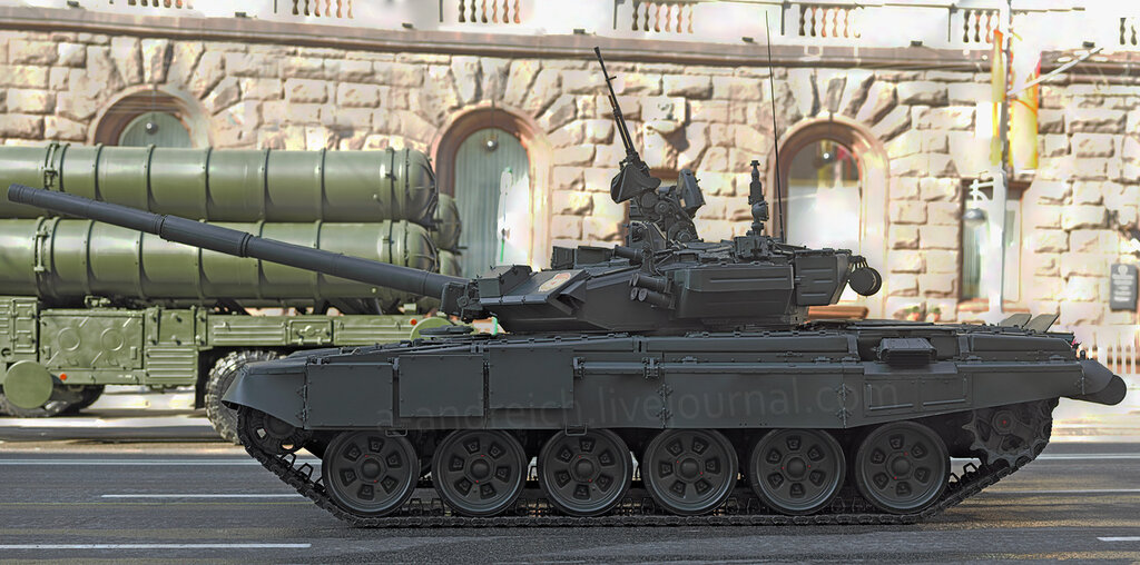 ОБТ Т-90А / MBT T-90A. © 2012. Андрей Крюченко / Andrey Kryuchenko