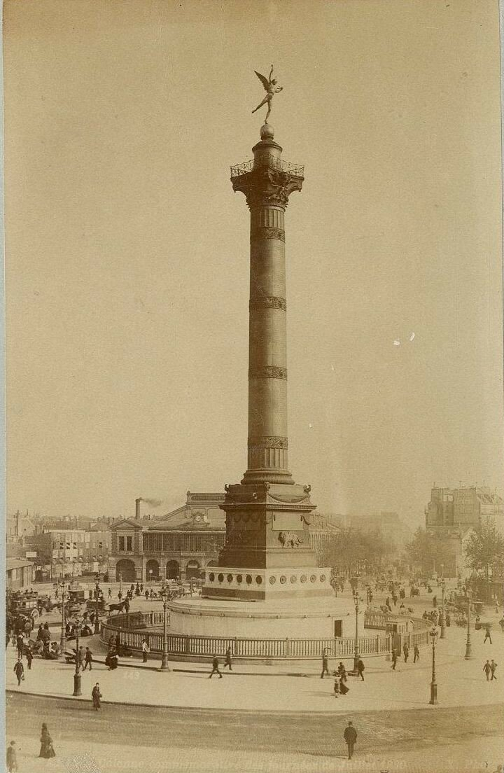 1880-е. Июльская колонна