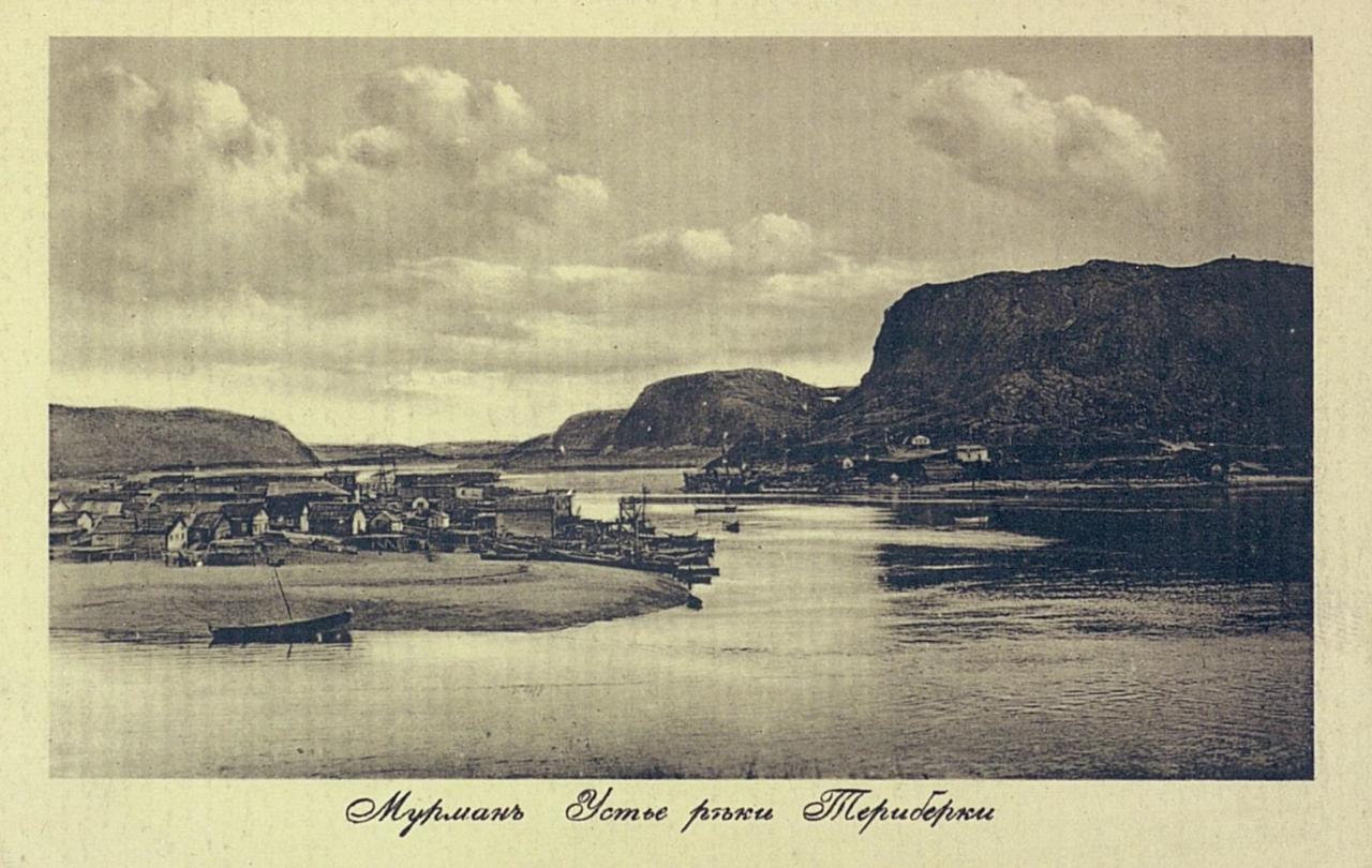 Мурман. Устье реки Териберки