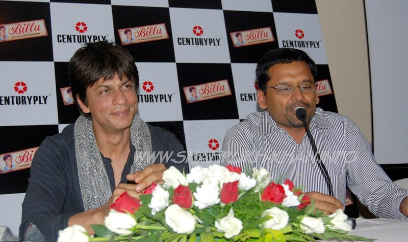BILLU BARBER - Hungama Digital Launch 2008 - Shahrukh Khan and Mr Jadhav