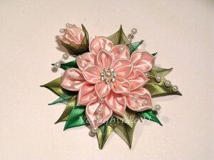 Прекрасные цветы канзаши 0_8daa4_c6621e8d_M