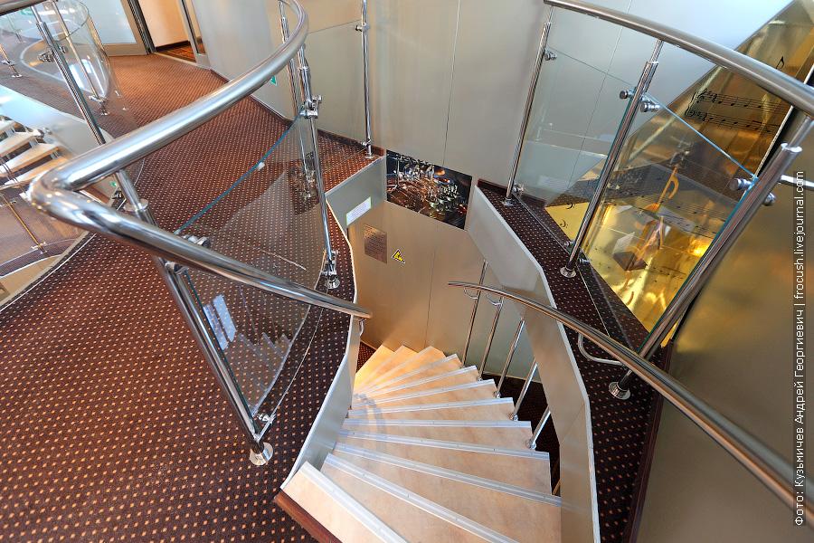Лестница в «стакане»