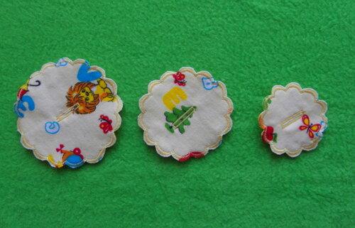 Развивающий коврик своими руками ~ Цветочные фантазии... цветы из ткани
