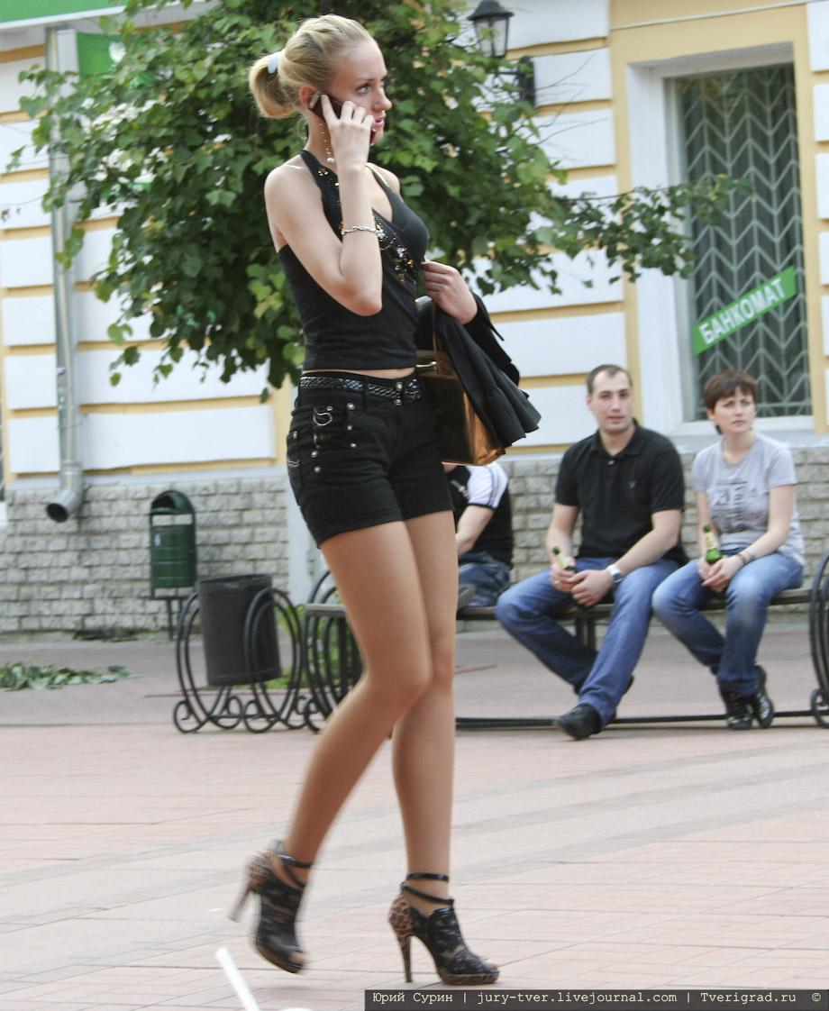 Снимают девак на улице 16 фотография