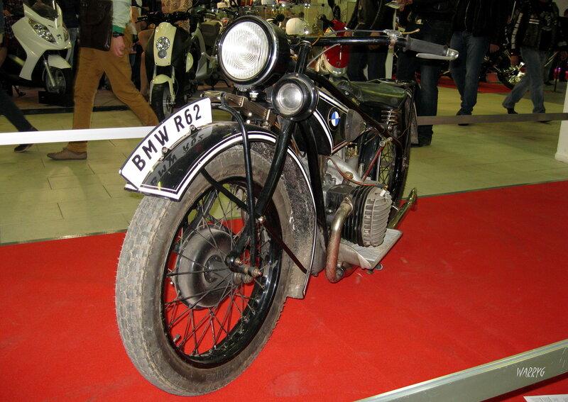 Ретро зона. Немецкий мотоцикл BMW R62 1928 г.
