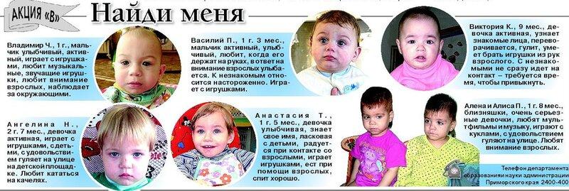 собирался анкеты детей на усыновление владивосток испытать какое-то