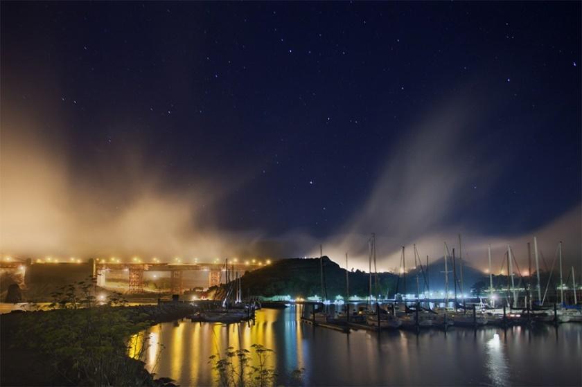 Красивые фотографии тумана в Сан Франциско, США 0 142299 9568ab3b orig