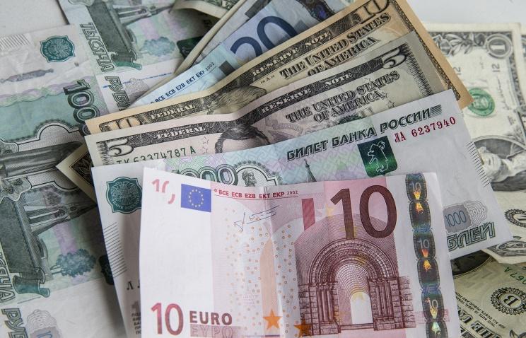 Евро падает, доллар растёт