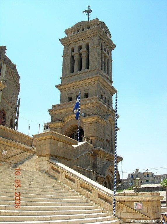 Колокольня храма вмч. Георгия Победоносца в Каире
