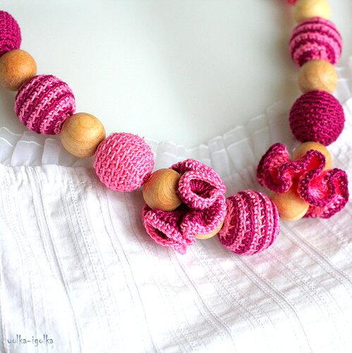 Слингобусы малин-роз