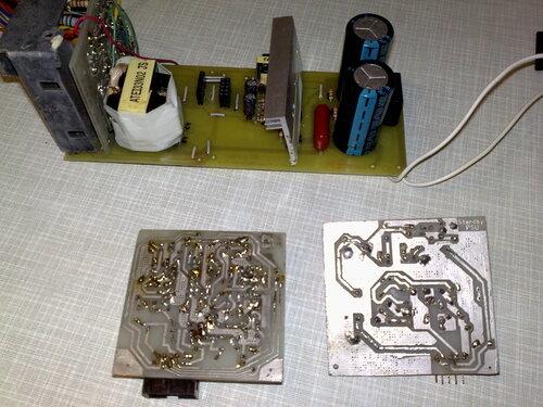 За основу взята схема БП Power Master FA-5-2 с переделанной дежуркой.