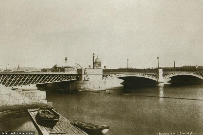 Петербург тогда и сейчас - Набережная Лейтенанта Шмидта