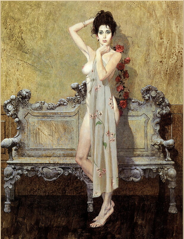 Художник Роберт МакГиннис (Robert McGinnis)