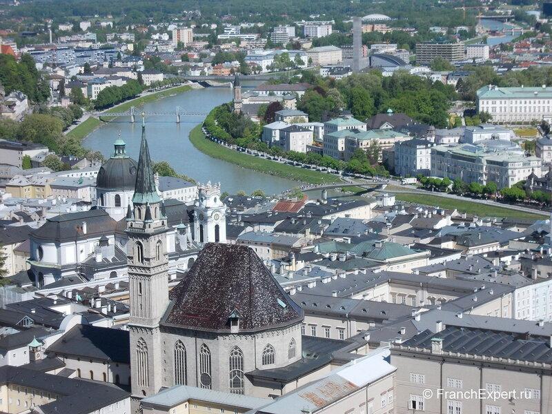Исторический центр Зальцбурга