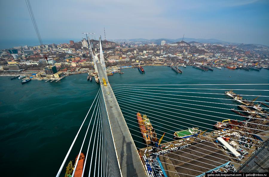 Владивосток мосты строительство