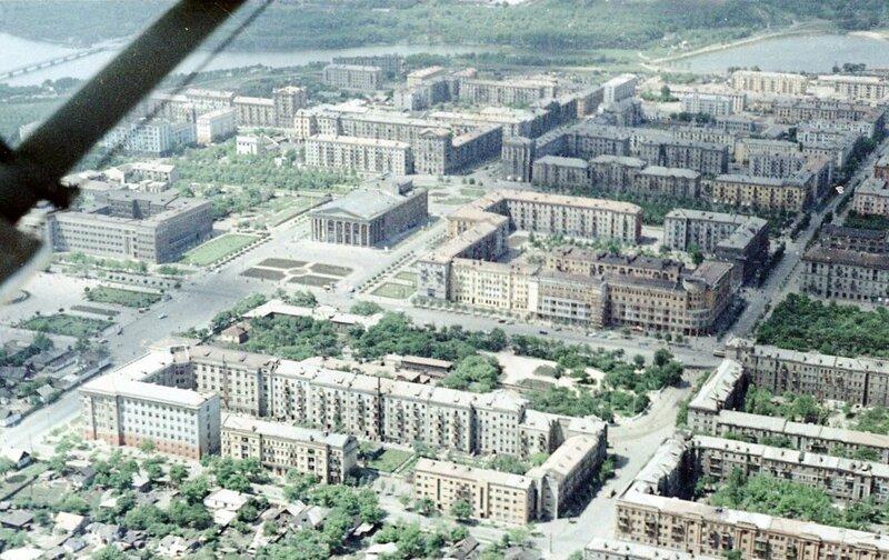 21. Донецк. Аэрофотосъемка начала 1960-х