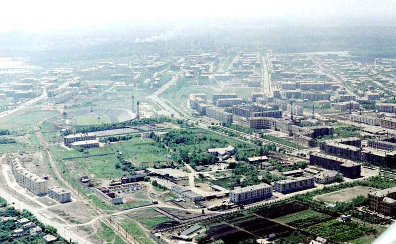 39. Донецк. Аэрофотосъемка начала 1960-х