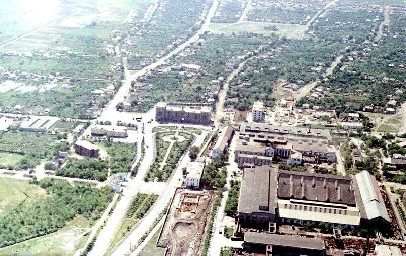 43. Донецк. Аэрофотосъемка начала 1960-х