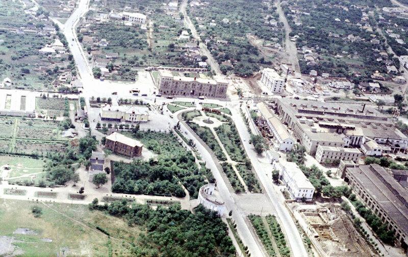 49. Донецк. Аэрофотосъемка начала 1960-х