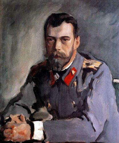 Портрет императора Николая II. 1900. Валентин Серов.