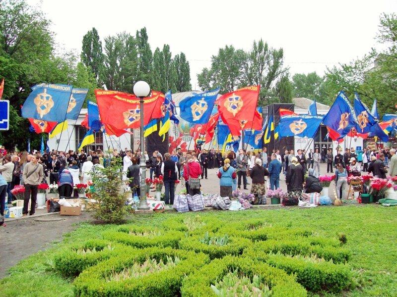 Метро Арсенальная 9 мая 2012 года