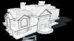 Проект Жилого дома с остекленной террасой