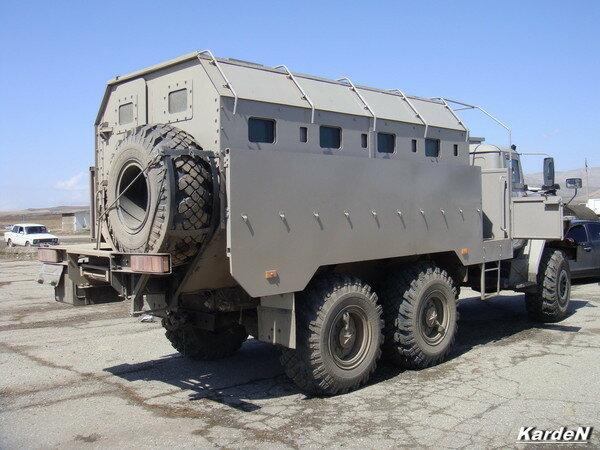 Автобус специальный бронированный «Федерал»