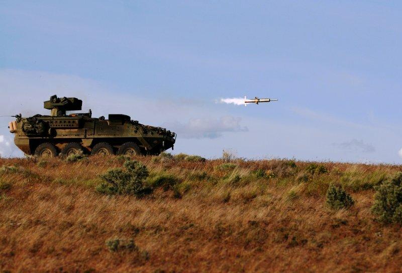 Тяжелый противотанковый ракетный комплекс (ПТРК) BGM-71 TOW