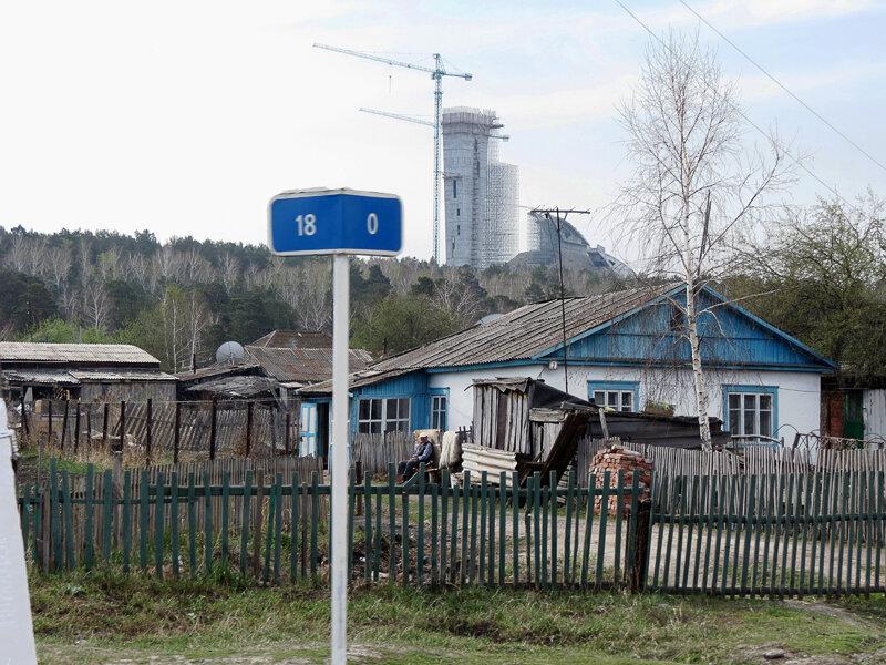 Щучинск, нулевой километр - 2012 год. Комментарии к фото - Кокшетау Онлайн