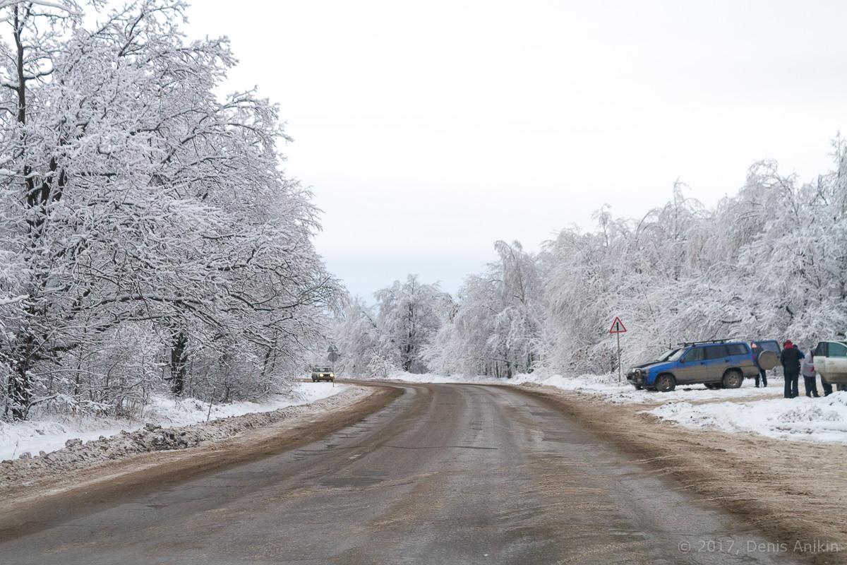 кумыска зима дорога фото 7
