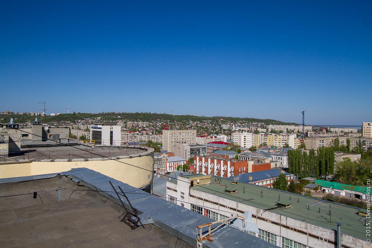 Крыша СГАУ 19