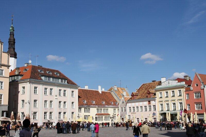 Эстония, Таллинн, Старый город, Ратушная площадь