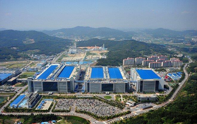Завод по производству матриц Samsung