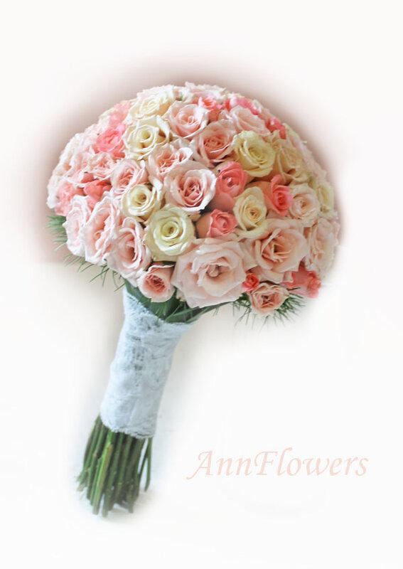 Собрать букет из кустовых роз своими руками - Еще один блог о ремонте