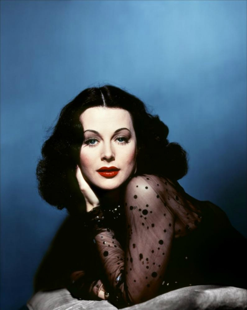 Актриса Хэди Ламарр (Hedy Lamarr)